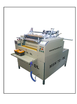 Stretch and Aluminum Foil Rewinder Machine